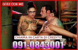 Telefono Erotico Carta di Credito 0910843001